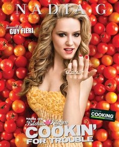 Nadia G's Bitchin' Kitchen: Cookin' for Trouble - Her show is ridiculous, hilarious, and off the wall and her food looks damn good, I need this cookbook. Chefs, Chicken Risotto, Tv In Kitchen, Best Cookbooks, Guy Fieri, Group Meals, Food Network Recipes, Cooking Tips, Gourmet