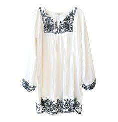 Mes Demoiselles Joanne Embroidered Dress