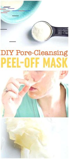 11 simple homemade face masks for glowing skin Diy acne face mask without honey Pimples Re . simple homemade face masks for glowing skin Diy acne face mask without honey Pimples rightDIY Charcoal Jelly Diy Peel Off Face Mask, Diy Face Mask, Face Masks, Face Peel, Facial Diy Mask, Pore Mask Diy, Biore Mask, Diy Beauty Hacks, Hacks Diy