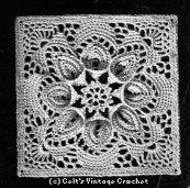 celtwich Vintage Crochet Medaillon