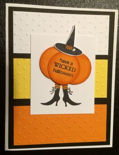 Stampin Up - Wicked Cool stamp set