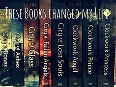 The Mortal Instruments and The Infernal Devices: Would like to read these