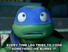 Leo is all tmnt fans watching tmnt XD Tmnt 2012, Ninja Turtles Art, Teenage Mutant Ninja Turtles, Tmnt Leo, Tmnt Girls, Leonardo Tmnt, Nickelodeon, Wattpad, Geek Stuff