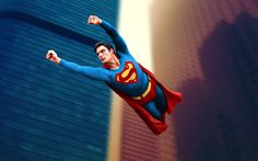 Christopher Reeve, Superman. Teaching us that man can fly after all.