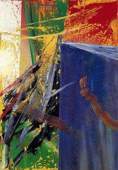 """Gerhard Richter, """"Abstract Painting"""", 1985, Catalogue Raisonné: 578-5. Imagen tomada de http://www.gerhard-richter.com"""