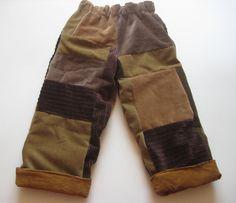 boys patchwork pants