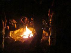 end of summer bonfire