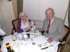 Married for 60 years, even got a telegram from the Queen