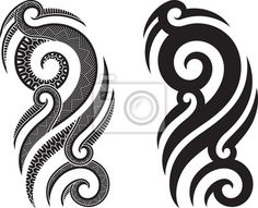 Buy Maori tattoo pattern by artefy on GraphicRiver. Maori styled tattoo pattern fits for a shoulder or an ankle. Maori Tattoos, Tattoos Bein, Hawaiianisches Tattoo, Marquesan Tattoos, Bad Tattoos, Body Art Tattoos, Tribal Tattoos, Tattoos For Guys, Sleeve Tattoos