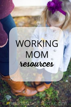 A full list of working mom resources including productivity apps, organization tips, books, podcasts, educational resources and much more!