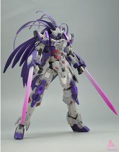 GUNDAM GUY: HGBF 1/144 Denial Gundam - Customized Build