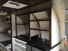 Airstream Kitchen - Airstream Pantry - Airstream Renovation - DIY Airstream