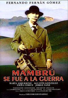 Mambrú se fué a la guerra (1986) España. dir.: Fernando Fernán-Gomez. Comedia. Drama. Franquismo - DVD CINE 1962-III