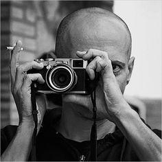 Antoine d'Agata with his Fuji Shooting Camera, Photographic Film, Diane Arbus, Magnum, Old Cameras, Movie Camera, Robert Doisneau, Leica Camera, Great Photographers