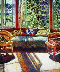 Sunny Morning - Nikolay Bogdanov-Belsky (1868–1945)