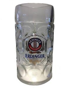 #Erdinger - #chope / #verre de #bière - 1 litre - #Masskrug - #NOUVEAU in | #eBayFR