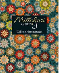 Softcover Book-Millefiori Quilts 3 by Willyne Hammerstein, Quiltmania, English Paper Piecing, EPP by quilterstoolbox on Etsy Quilting Projects, Quilting Designs, Quilting Ideas, Secret Song, Millefiori Quilts, Kaleidoscope Quilt, Thing 1, Book Quilt, Quilt Top