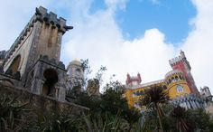 Pena Palace in Sintra, Portugal   SINTRA: Where Portuguese Fairies Come to Sleep  Charming and magical, Sintra is a Portuguese town not too far from Lisbon
