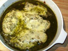 Kimberkara's Recipes: Pesto Chicken (South Beach Phase 1)