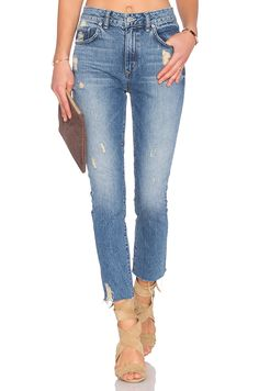 fd7862a0 Lovers + Friends Logan High-Rise Tapered Jean in Rossmore   REVOLVE Tapered  Jeans,