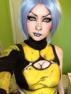I'm not into cosplay.but these are some insane make up skills! Ridiculously awesome Maya cosplay from Borderlands 2 Cosplay Anime, Epic Cosplay, Cosplay Diy, Cute Cosplay, Cosplay Makeup, Amazing Cosplay, Halloween Cosplay, Cosplay Girls, Amazing Costumes