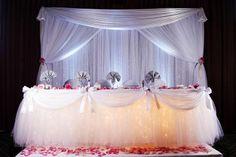 wedding head table decoration ideas | Head Table Decor. | wedding ideas