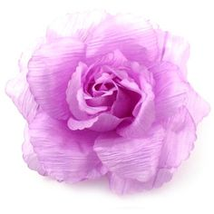 Pink Purple Soft Fabric Corsage  Flower Brooch  Hair Accessory  Hair Clip