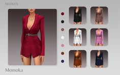 Sims 4 Mods Clothes, Sims 4 Clothing, Sims Mods, Sims 4 Cc Packs, Sims 4 Mm Cc, Sims 4 Collections, Sims4 Clothes, Look Formal, The Sims4