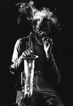 Joe Henderson by Von Rainer Alexander, 1980.