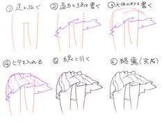 ぼくのかんがえた超簡単スカートの描き方 : スカートの描き方講座 まとめ - NAVER まとめ