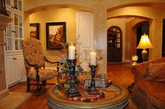 Beautiful Tuscan Living Rooms | TEXCAN (Tuscany in Texas) , Tuscan inspired formal living room. Still ...
