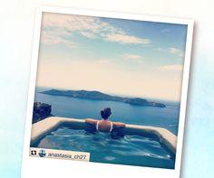 Best view ever! #sophiasuites #santorini #caldera