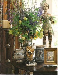love everything she, Carol, does - Carol Glasser via Cote de Texas
