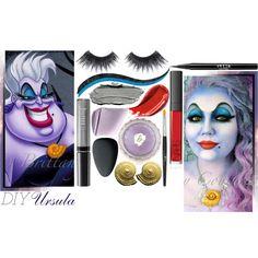 DIY Ursula Makeup
