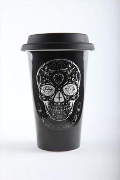 to go skull mug
