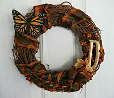 Fall Wreath by #OliveLoafDesign