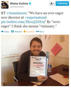 """By over-eager, I think she means ""visionary""."" 