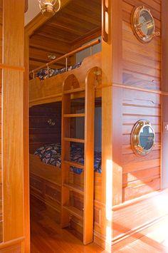gorgeous nautical bunk beds