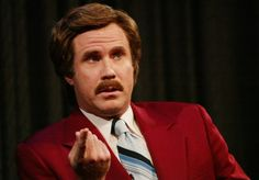The legend of Ron Burgundy strikes LA with Will Ferrell-themed bar Famous Mustaches, Ron Burgundy, World News Headlines, Will Ferrell, News Anchor, Stay Classy, Top Ten, In Hollywood, Movies And Tv Shows