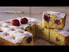 Η Κερασόπιτα της ΜΑΚΕΔΟΝΙΑΣ μας! - Cherry Pie - YouTube Yummy Cakes, Muffins, Cooking Recipes, Snacks, Breakfast, Desserts, Breads, Foods, Bakken