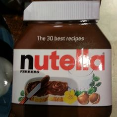 Nutella could possibly be my favorite food item and here is a recipe book devoted to it #WGBD