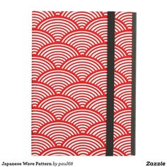 Japanese Wave Pattern Cover For iPad Air