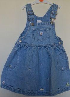 À vendre sur #vintedfrance ! http://www.vinted.fr/mode-enfants/robes/24073546-robe-salopette-en-jean-baby-gap