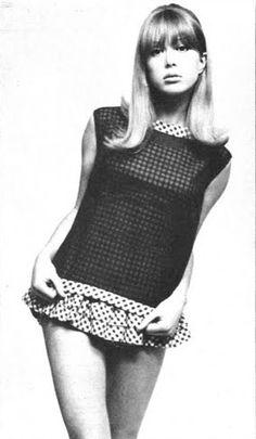 Pattie Boyd in British Vogue