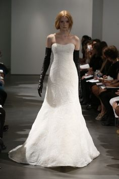Vera Wang Spring 2014 Bridal Gowns: Black and White