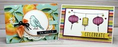 Stampin' Up! Color Me Happy & Stampin' Blends