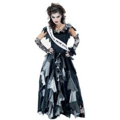 The Womens Zombie Prom Queen Costume is the best 2018 Halloween costume for you to get! Everyone will love this Womens costume that you picked up from Wholesale Halloween Costumes! Halloween Zombie, Wholesale Halloween Costumes, Scary Halloween Costumes, Adult Costumes, Costumes For Women, Zombie Costumes, Spirit Halloween, Adult Halloween, Zombie Costume Women