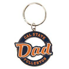 Dad Metal Keychain