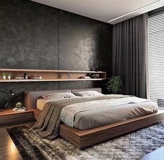 Beautiful Master Bedrooms with Modern Interior Decor - Gazzed - Designer bedroom design. Beautiful Master Bedrooms with Modern Interior Decor The Effective Picture - Modern Bedroom Design, Master Bedroom Design, Modern Interior Design, Master Bedrooms, Modern Mens Bedroom, Modern Master Bedroom, Modern Bedroom Furniture, Masculine Master Bedroom, Furniture Ideas