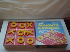 Vintage Noughts and Crosses by Falcon (1970's), Retro Noughts and Crosses by Falcon (1970's)- RARE by BunkysVintageCrafts on Etsy